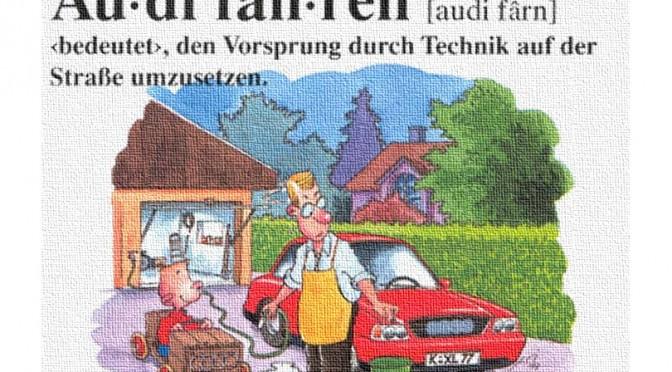 Sonntag Audi den Aufstieg vermasseln