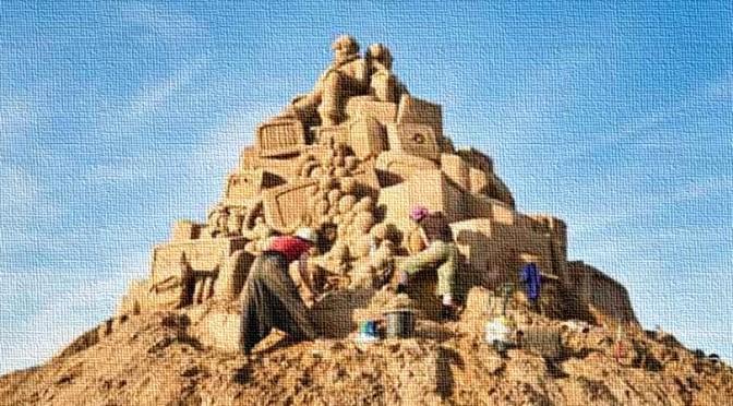 Saisonabschluss gegen den Sandhaufen