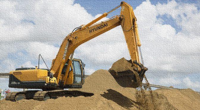 Freitag gegen den Sandhaufen