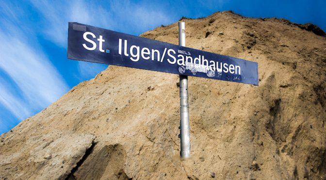 Sonntag bei Sandhausen